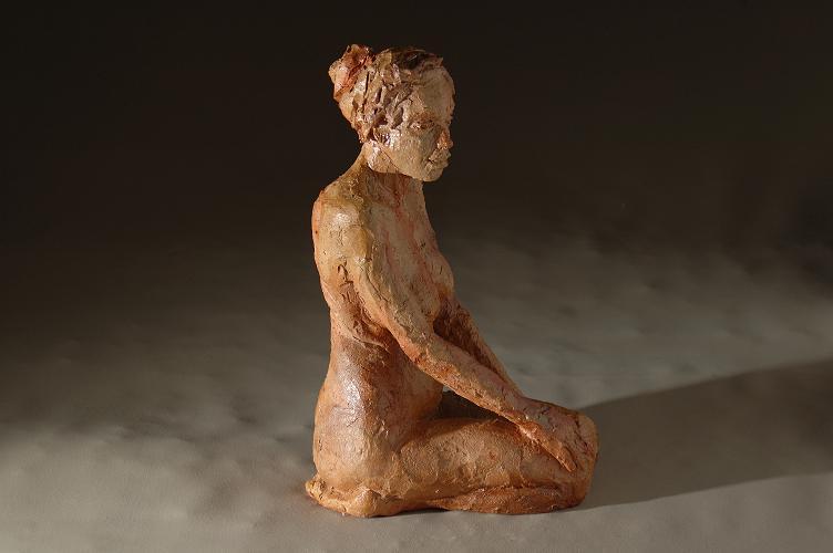 christine lambert sculpture a genoux