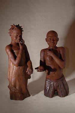 sculpture romeo et juliette