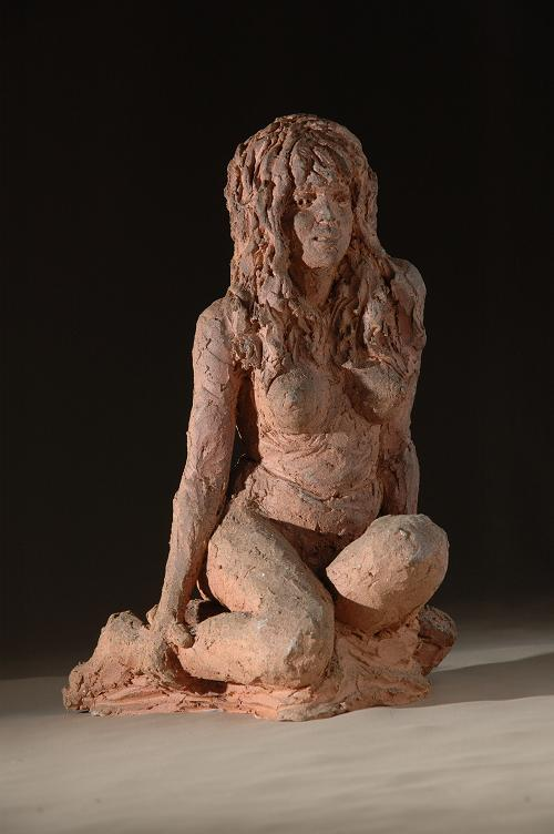 sculpture sauvage fait par christine lambert