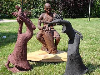 sculpture danses africaines