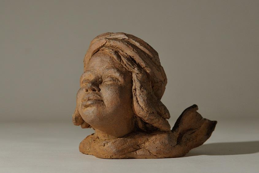 sculpture tete enfant enfantine petite tete sculpture tete