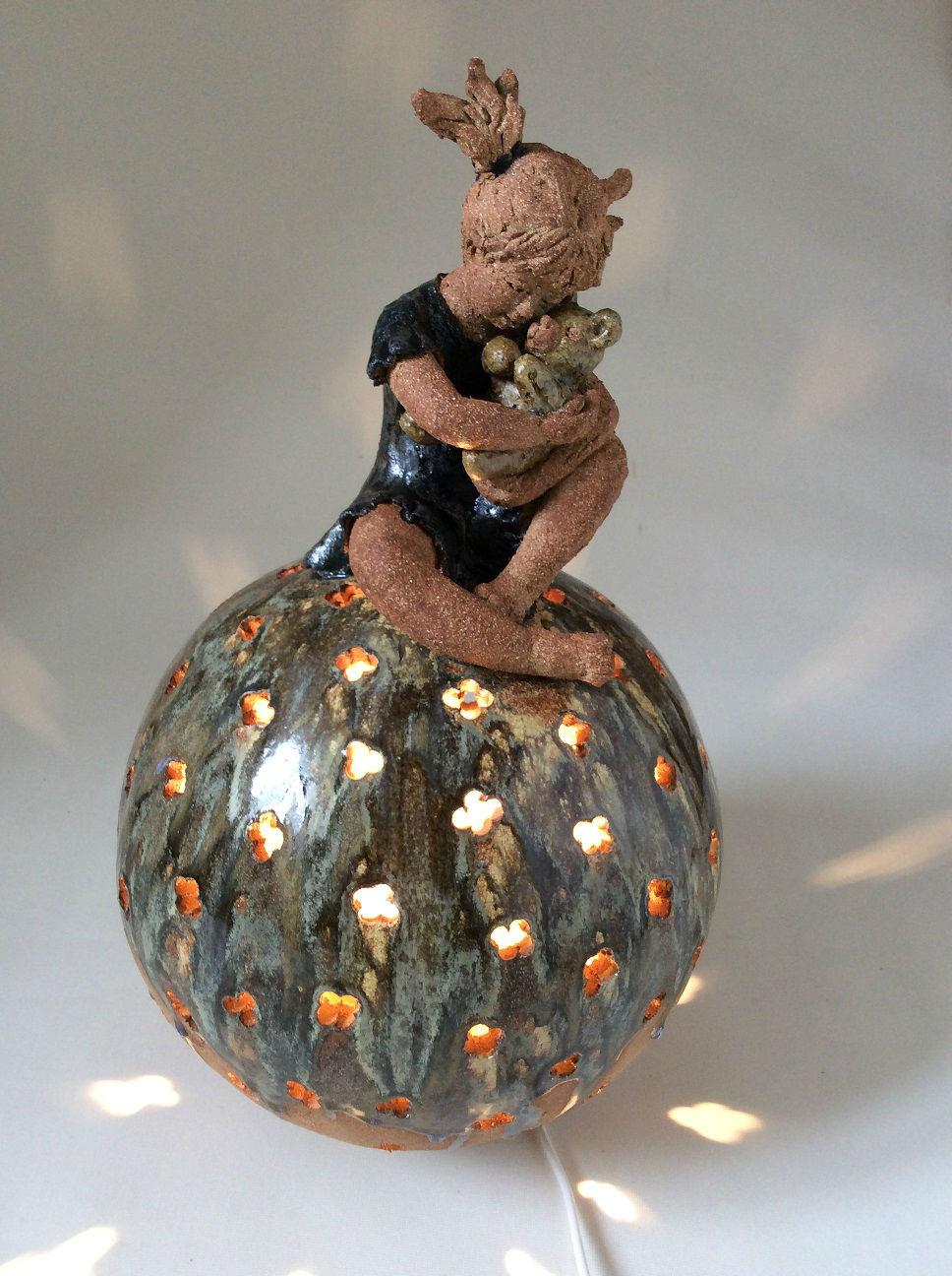 sphère lampe le nombril du monde