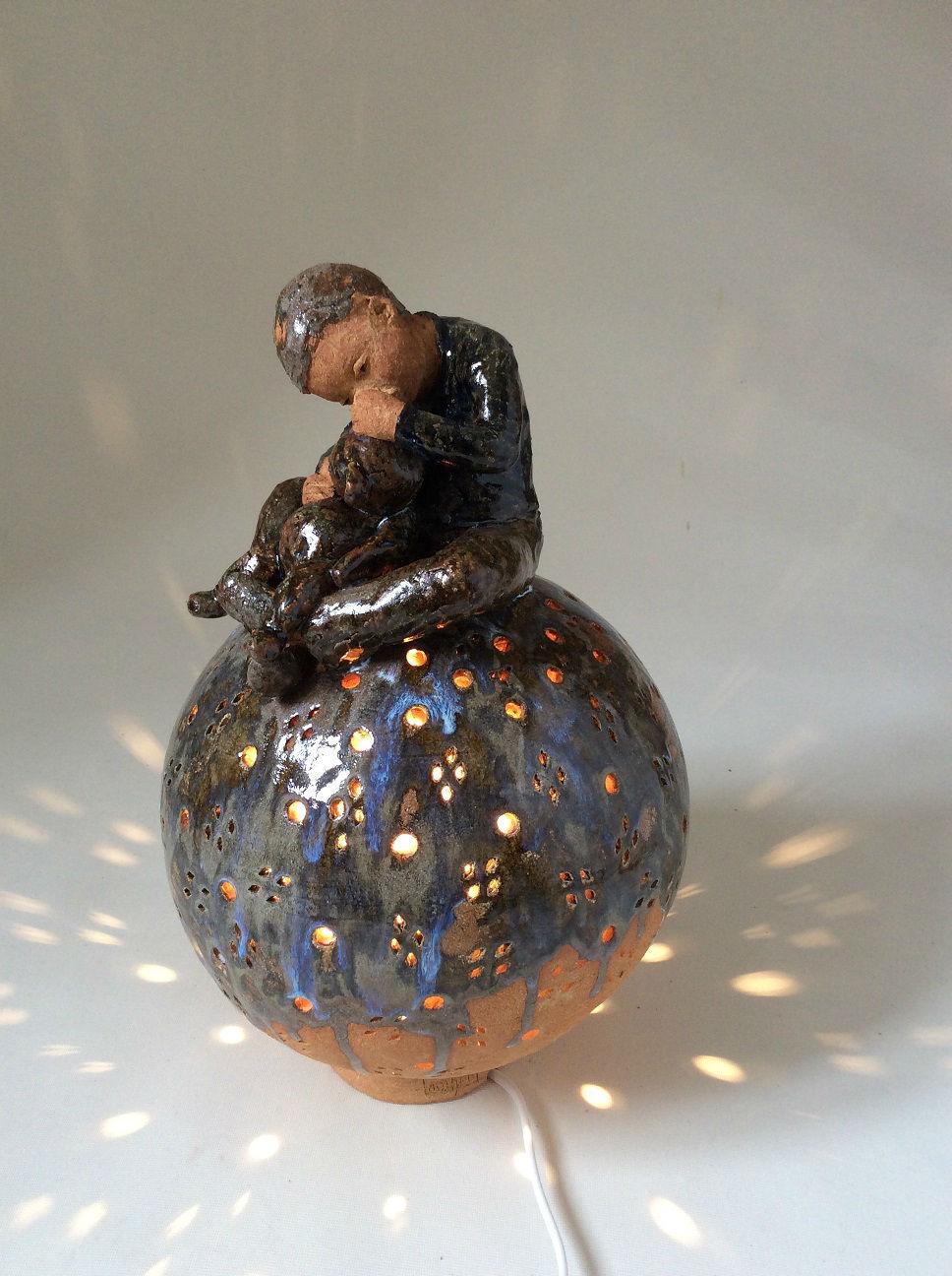 sphère lampe mon nounours à moi