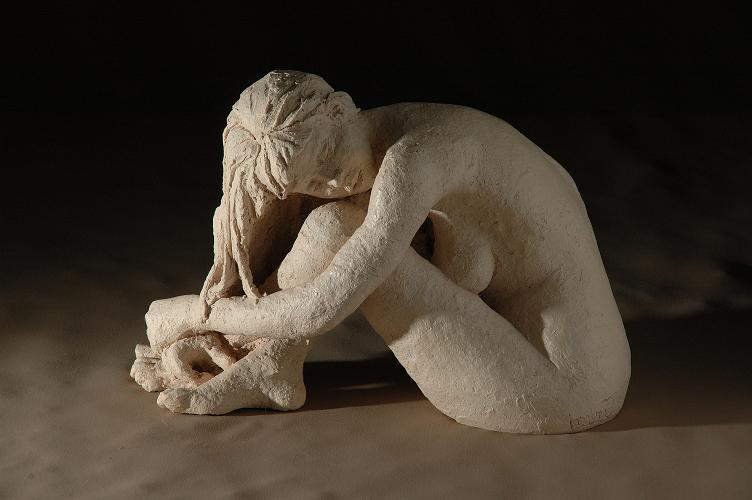 christine lambert sculpture melancolie
