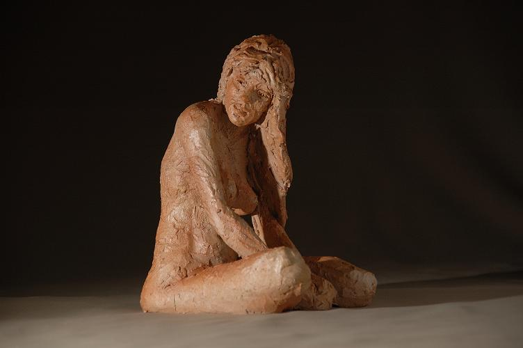 sculpture plenitude fait par christine lambert
