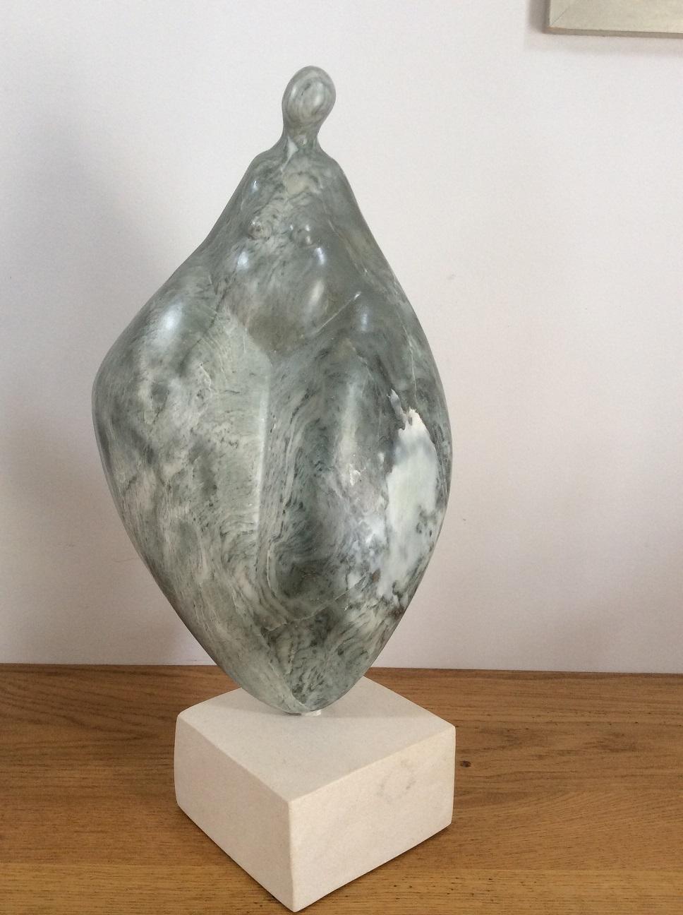 stéatite pierre a savon tendre verte sculpture femme calipige christine lambert