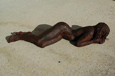 sculpture plage