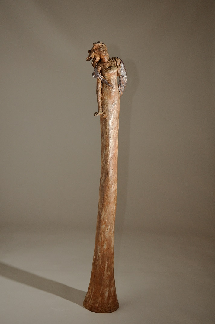 sculpture femme longiligne femme longue sculptée modelage femme longue